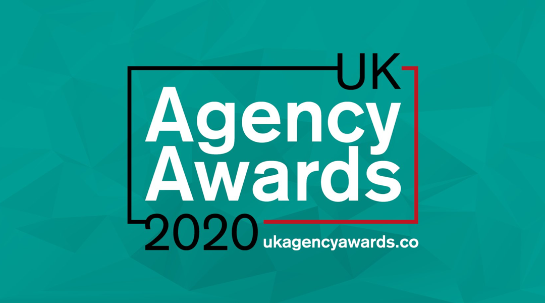 Digital Marketing Agency, nominated for two awards at  The UK Agency Awards 2020